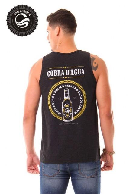 Regata Cobra D'agua Breja com Abridor - Preto