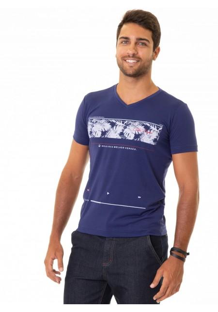 Camiseta Cobra D'agua Evolução - Marinho
