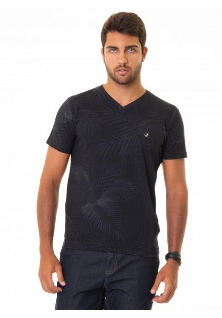 Camiseta Cobra D'agua Palm - Preto
