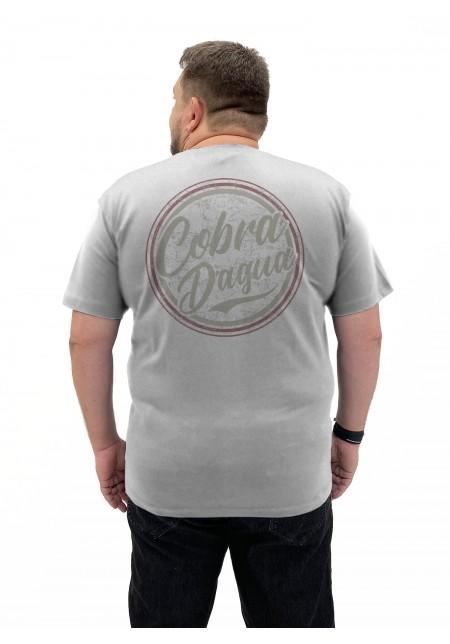 Camiseta Cobra D'agua Round - Mescla Gelo