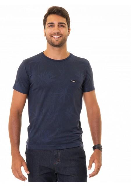 Camiseta Cobra D'agua Silver - Marinho