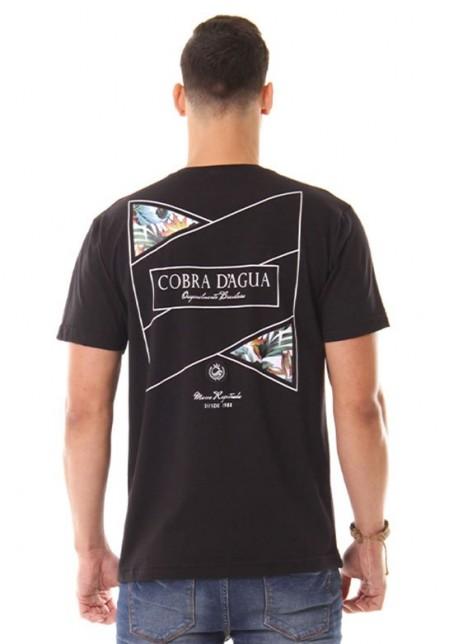 Camiseta Cobra D'agua Original do Brasil - Preto