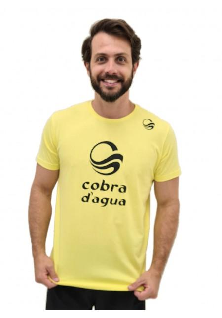 Camiseta Cobra D'agua Campeão - Amarelo New